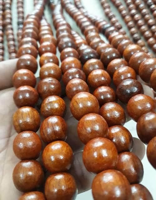 Mành hạt gỗ Hương treo phong thủy