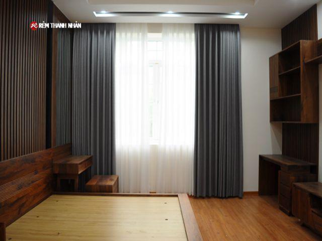 Rèm cửa vải Hàn Quốc Judith