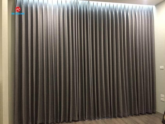 Rèm cửa 2 lớp vải Hàn Quốc chính hãng