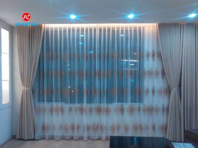 Rèm cửa sổ đẹp 2 lớp cho phòng khách gia đình