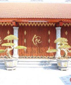 Rèm hạt gỗ Hương Phúc-Lộc-Thọ