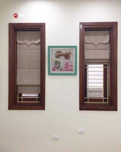 Rèm xếp lớp RM-484-1 phòng ngủ