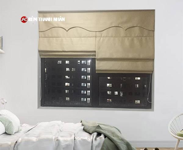 Rèm roman RM-22A-11 phòng ngủ