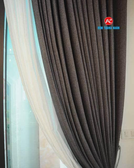 Rèm vải đẹp Hàn Quốc