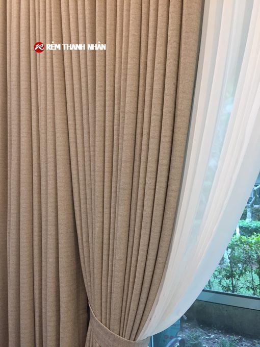 Rèm cửa 2 lớp đẹp vải Nhật Bản chính hãng Harmony T805-2