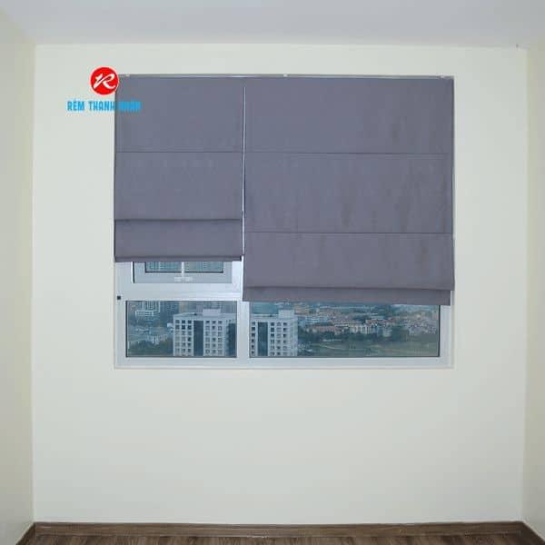 Rèm roman RM-22A-12 phòng ngủ
