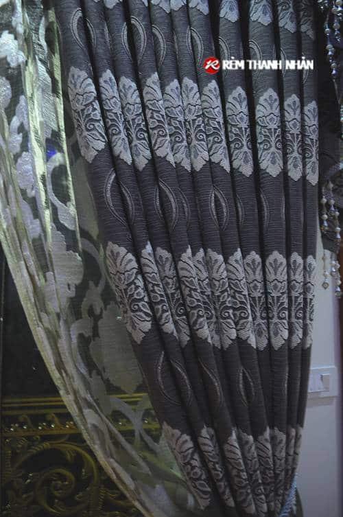 Vải rèm hoa văn đẹp