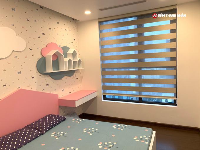 Rèm cầu vồng modero mã BALI cho phòng trẻ em tại chung cư