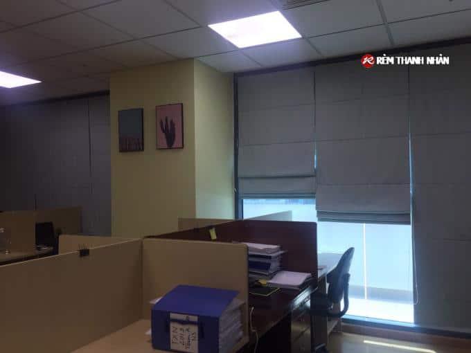 Rèm cửa sổ ROMAN 2 lớp RM886-5 chống nắng cách nhiệt