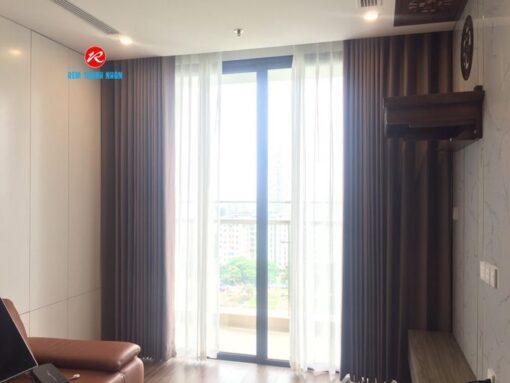 Rèm cửa vải 2 lớp RV484 đẹp chống nắng
