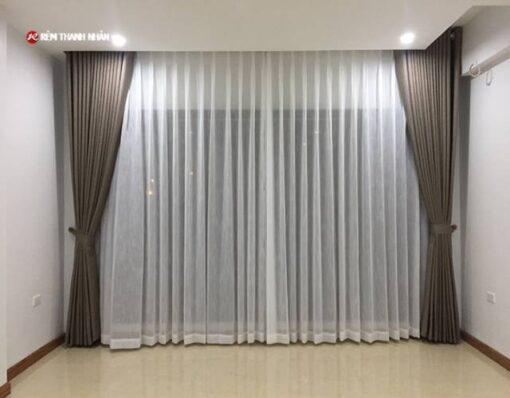Rèm vải 2 lớp phòng khách
