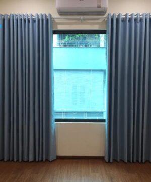 Rèm vải RV950-9 một màu giá rẻ
