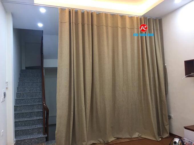 Rèm vải ngăn phòng lạnh điều hòa TN51-13