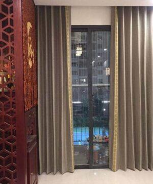Rèm vải Hàn Quốc phòng khách