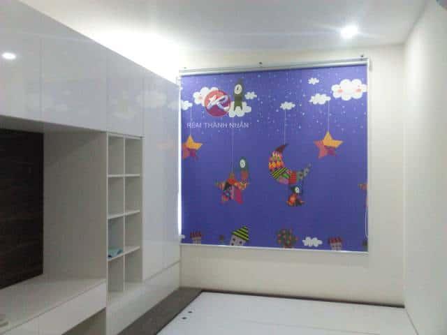 Công trình rèm cuốn tranh tại CC Ecolife Tố Hữu
