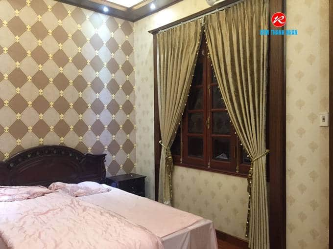Giá rèm cửa sổ vải gấm lụa