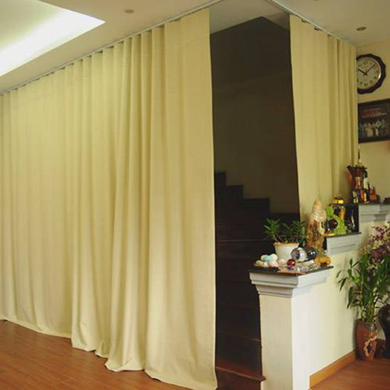 Giá rèm vải ngăn lạnh phủ nhựa