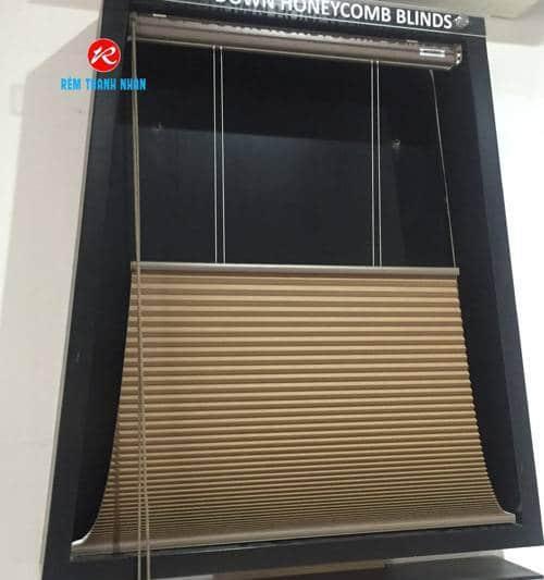 Mẫu rèm cửa sổ tổ Ong Hàn Quốc
