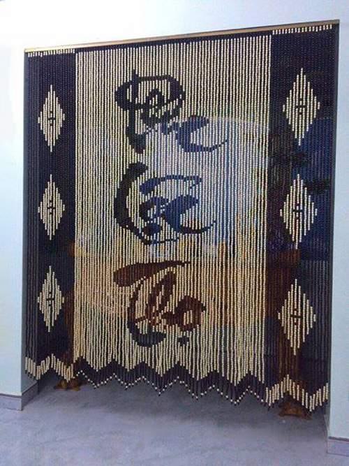 Rèm cửa bằng hạt gỗ Bồ Đề