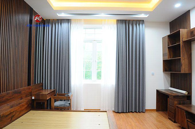 Rèm cửa sổ đẹp Hàn Quốc 2 lớp