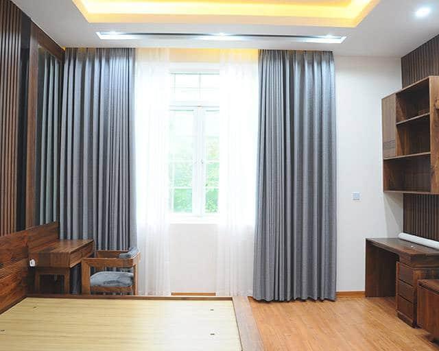 Rèm cửa sổ vải nhập Hàn Quốc chính hãng