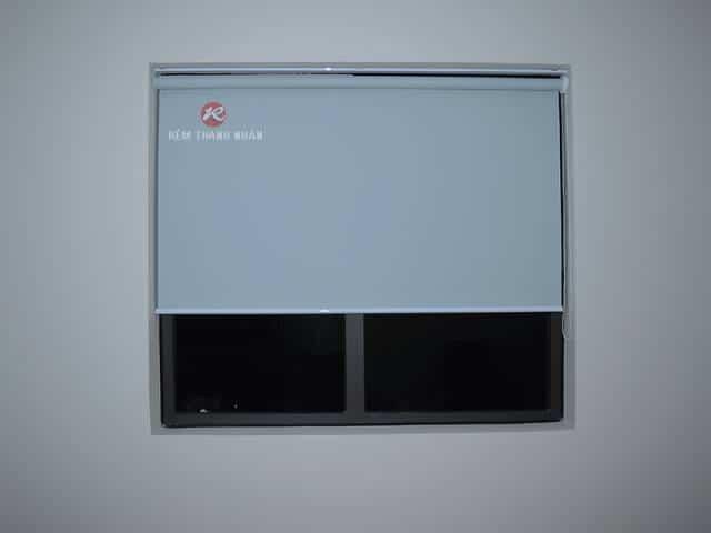 Rèm cuốn cửa sổ vải ánh kim mã C 322