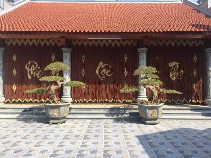 Rèm hạt gỗ Hương Thanh Nhàn
