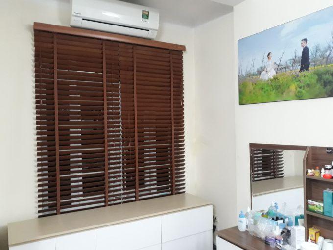 Mẫu rèm gỗ cửa sổ