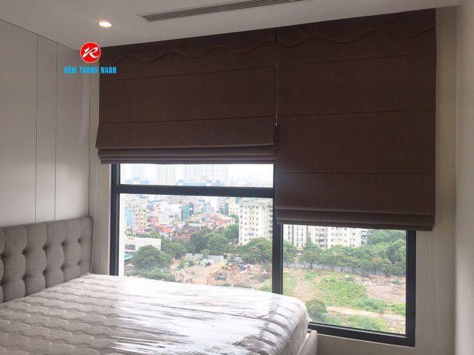 Rèm cửa sổ roman phòng ngủ