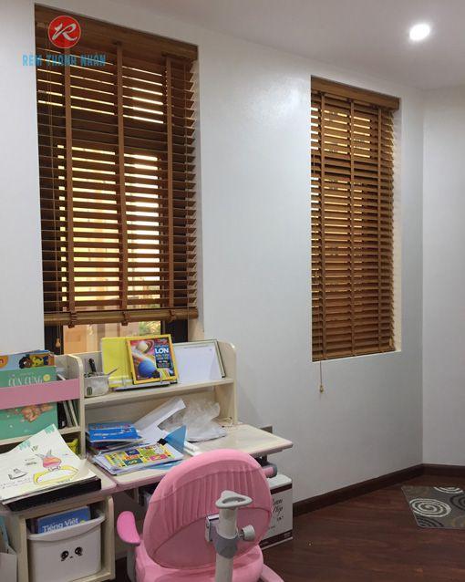 Rèm cửa sổ gỗ