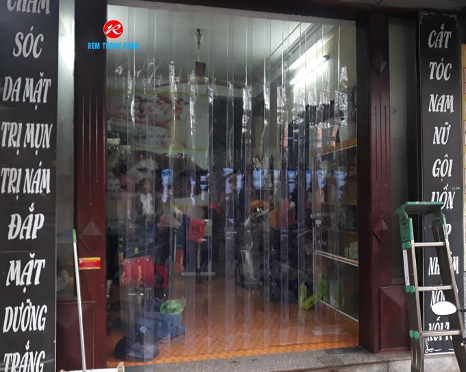 Rèm nhựa PVC ngăn lạnh điều hòa