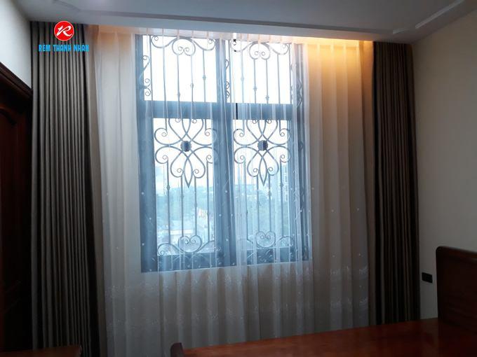 Rèm vải cửa sổ Thanh Nhàn