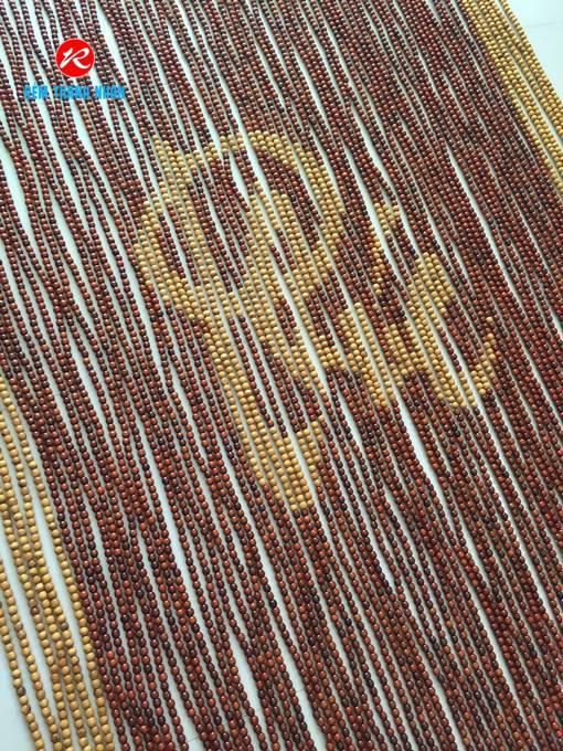 Mẫu hạt gỗ Pơ Mu chữ Phúc