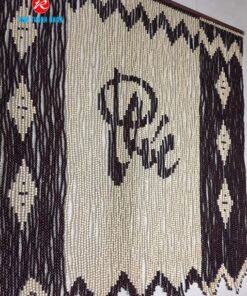 Mành rèm treo cửa hạt gỗ Bồ Đề