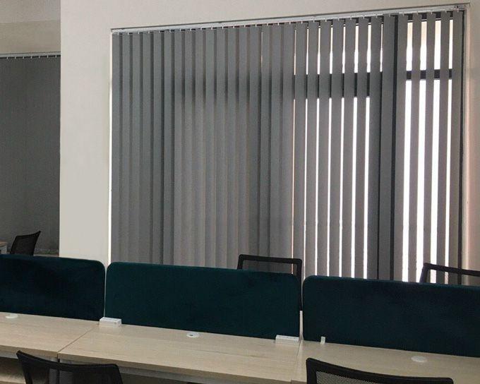 Rèm lá màu Xám A.584 Văn phòng