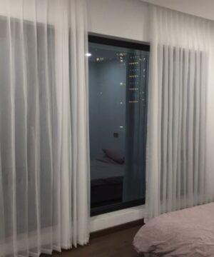 Rèm vải voan Pinecone PC071-888-1 phòng ngủ